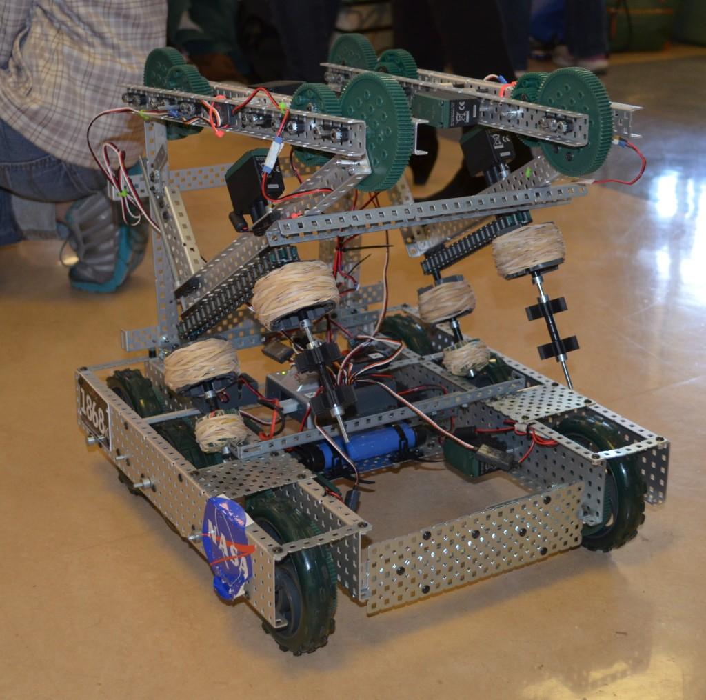 Toss-up robot